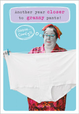 Granny Pants Greeting Card by Frank by Name - Abacus Cards