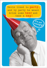 Take a Nap Greeting Card by Frank by Name - Abacus Cards