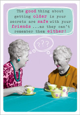 Good things about Getting Older  by Frank by Name - Abacus Cards