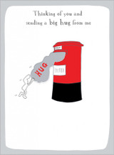 Thinking of You Greeting Card by Harolds Planet - Abacus Cards