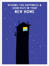 New Home Greeting Card by Harolds Planet - Abacus Cards