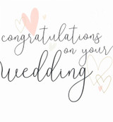 Congratulations on Wedding Day Greeting Card - Caroline Gardner