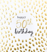 50th Birthday Card - Caroline Gardner
