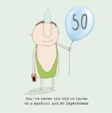 Mankini Birthday Card - Rosie Made a Thing