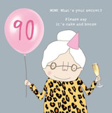 What's Your secret at 90 - Rosie Made a Thing