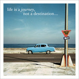 Life is a Journey Inspirational Greeting Card - Icon Art