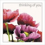 Thinking of You Greeting Card - Icon Art