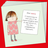 Funny Christmas card pack - Rosie Made a Thing
