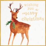 Christmas Deer Charity Christmas Cards - Caroline Gardner