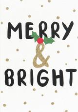 Merry & Bright Christmas Cards - Caroline Gardner