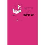 Let's Flamin-go Birthday Card  - Mint Publishing