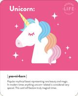 Unicorn Cute Birthday Card - Mint Publishing