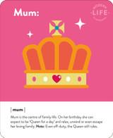 Mum Birthday Card - Mint Publishing