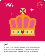 Wife Birthday Card - Mint Publishing