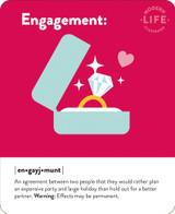 Engagement Greeting Card - Mint Publishing