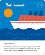 Retirement Greeting Card - Mint Publishing