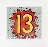 Kapow 13th Birthday Shakies Greeting Card - James Ellis
