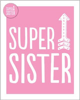 Super Sister Greeting Card - Bluebell 33