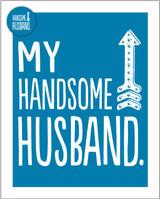 Handsome Husband Greeting Card - Bluebell 33