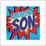 Fantastic Son Greeting Card - Bluebell 33