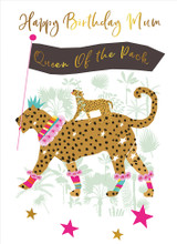 Queen of the Pack Mum  Birthday Card - Real & Exciting Designs