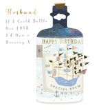 If I could bottle you Husband Greeting Card - Real & Exciting Designs