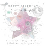 Beautiful Daughter Greeting Card - Real & Exciting Designs