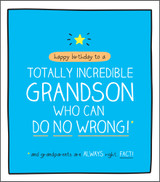 Incredible Grandson Birthday Card Happy Jackson - Pigment Productions
