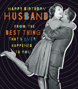 Quirky Husband Birthday Card - Pigment Productions