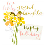 Lovely Granddaughter Greeting Card - Think of Me