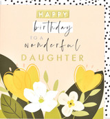 Wonderful Daughter  Greeting Card - Think of Me