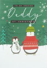 Merry Christmas Dad   Christmas Card - Laura Darrington