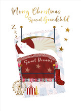 Sweet Dreams Grandchild Christmas Card - Real & Exciting Designs