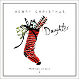 Merry Christmas Daughter with Love - Real & Exciting Designs