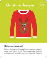 Christmas Jumper Christmas Card - Mint Publishing