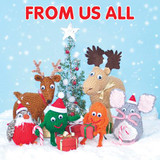 From all of Us Christmas Card - Mint Publishing
