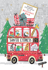Happy Christmas Brilliant Son Christmas Card - Rachel Ellen