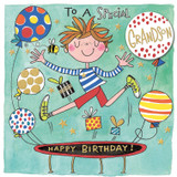 Special Birthday Grandson Greeting Card - Rachel Ellen