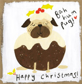 Bah Hum Pug! Christmas Card - Sooshichacha