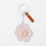 Rose Gold Flower Keyring | Caroline Gardner