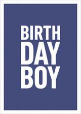 Birthday Boy Greeting Card - Icon Art