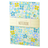A5 Blue Flower Notebook | Think of Me
