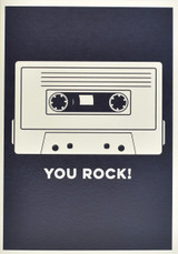 You Rock Greeting Card - Think of Me