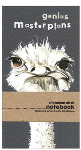 Mini Notebook Genius Masterplans   Cinnamon Aitch