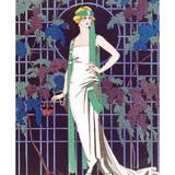 V&A Des Roses dans la Nuit Greeting Card | Museum & Galleries