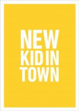 New Kid In Town New Job Greeting Card - Icon Art Company