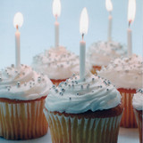 Cup Cakes Greeting Card - Icon Art