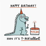Gemma Correll Quirky Greeting Card - The Wonky Tree