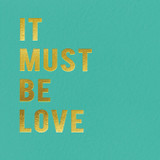 It must be Love Valentines Card | Redback Cards