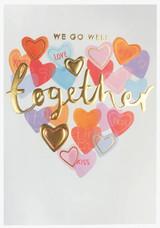 We Go Well Together | Valentines Card - Louise Tiler